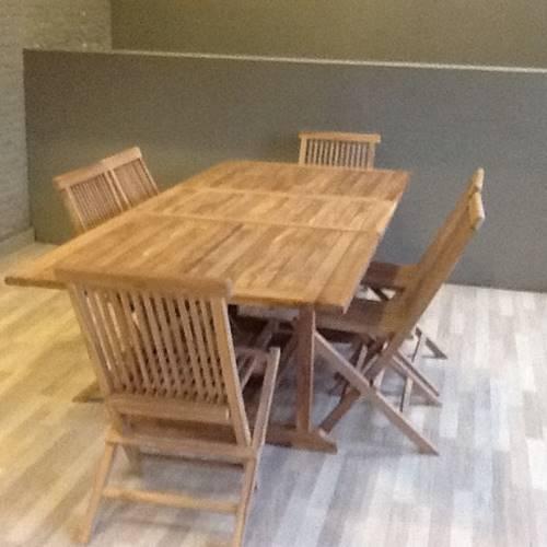 Tavoli In Legno Da Giardino Allungabili.Troostwijk