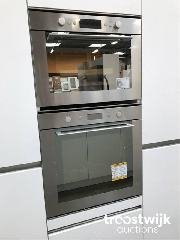 MK 2550 Zera XM cucina dell\'isola senza maniglie - Troostwijk