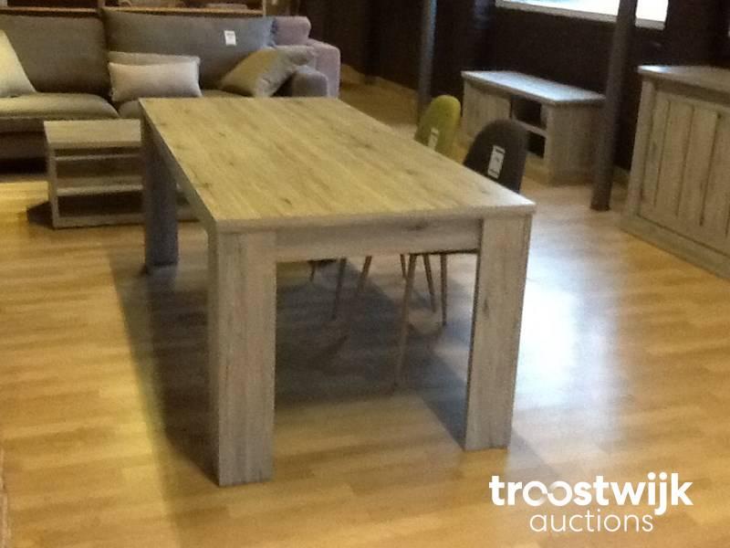 Mesa de comedor (roble gris) - Troostwijk