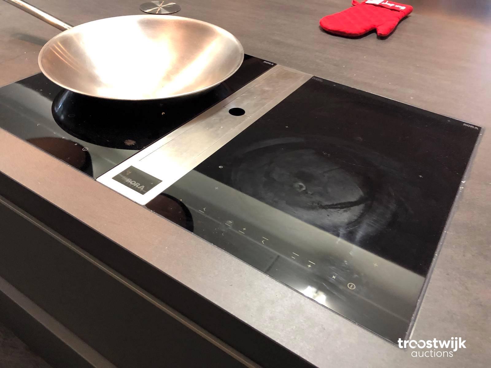 Bora Plaque De Cuisson bora classic wok table de cuisson avec extraction intégrée