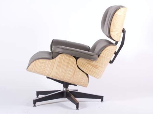 Lounge Stoel Met Voetenbank.Gray Lounge Chair With Ottoman Footstool Troostwijk