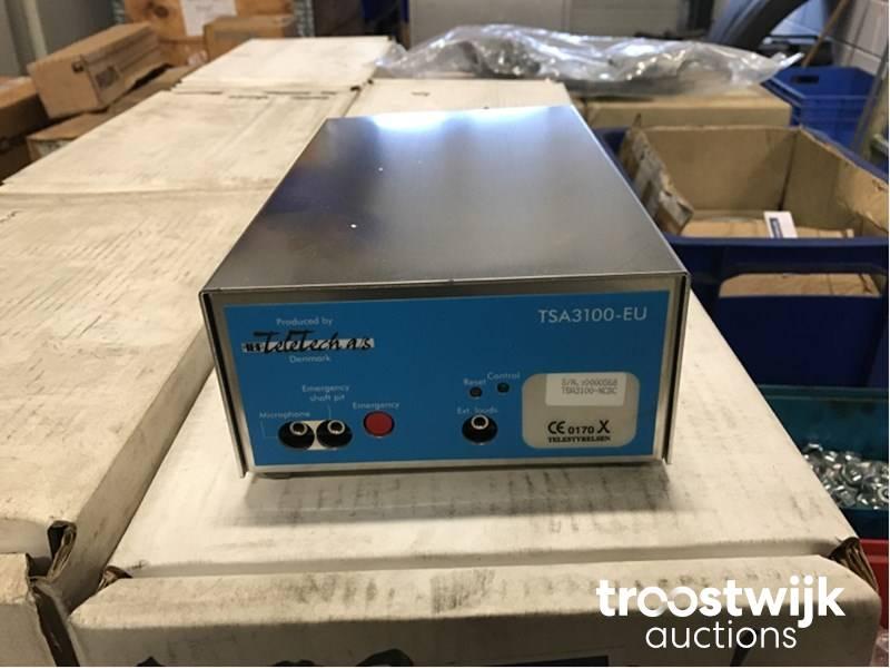 Teletech Tsa3100 Eu Systeme D Alarme D Ascenseur Troostwijk