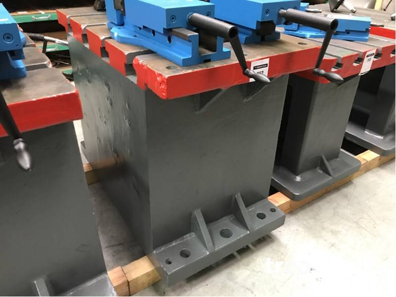 T slot table cast iron skillet