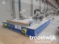 Maschinen eines Windradherstellers