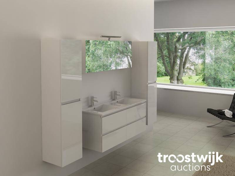 4 Piece Duo Bathroom Cabinet 120cm