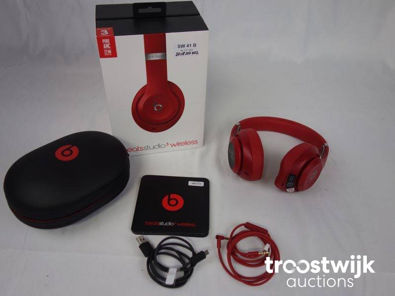 Beats By Dr Dre Studio 3 Wireless Headphones Troostwijk