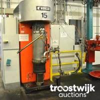 Maschinen zur Herstellung und Verarbeitung von Druckfarben, Flurfördermittel und mehr