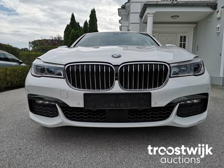 BMW 740d xDrive und AUDI Q7 3,0 TDI quattro