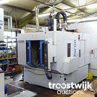Online-Auktion von modernen CNC-Maschinen zur Metallbearbeitung sowie Messmaschinen