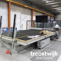Online-Auktion | Maschinen zur Glasbearbeitung, Flurfördermittel, Hebetechnik und Werkstatt