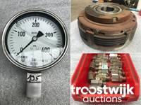 Online-Auktion von Hydrauliktechnik, Ersatzteilen und Zubehör wie Ventile, Pumpen, Filter