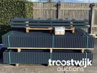 Online-Auktion von Doppelstabmattenzaun als Komplett-Sets, Tore und Sichtschutz