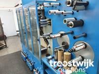 Online-Auktion von Flexodruckmaschinen Mark Andy und Siat, Kartoniermaschine Cama