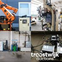 Online-Auktion von Maschinen und Komponenten für Industrie und Metallbearbeitung