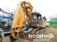 Online-Auktion von Maschinen, Container und Geräten aus dem Tunnelbau