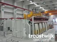 Online-Auktion von Maschinen eines Herstellers von Windenergieanlagen