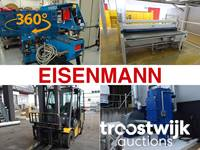 Lichttunnel, Werkstattzubehör, Flurförderzeuge und Elektrowerkzeug der Eisenmann Anlagenbau GmbH & Co. KG