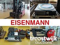 Flurförderzeuge und Werkstattzubehör der Eisenmann Anlagenbau GmbH & Co. KG