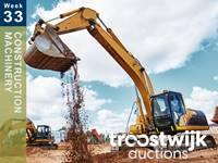 Baumaschinen und Baustelle | Woche 33