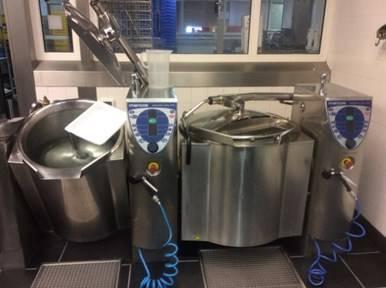 Online veiling Bakwandopstelling, kookketels, self cooking centers te Zwolle