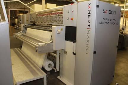 Online veiling Productie- en verpakkingsmachines, boxsprings, matrassen en voorraden te Zevenbergen