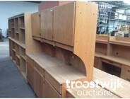 321. wooden cabinets