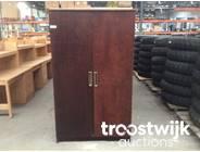 323. 2-doors wooden cabinet