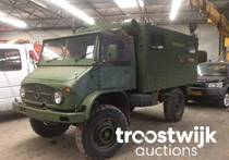 military 4x4 communication truck
