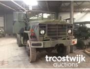 5. 6x6 military cargo truck
