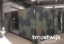 military 2-sided tactical expandab shelter container