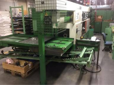 METALWORKING MACHINERY AND PAINT LINE