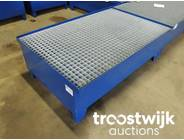 357. Drum Low profile spill containment pallet