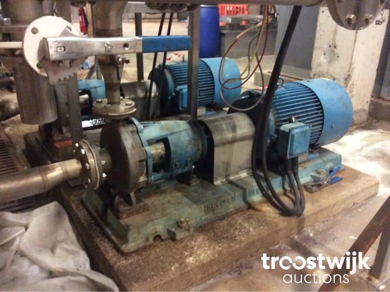 Ingersoll Dresser 80-50CPX250 pumps - Troostwijk